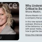 Shona Mackin, Socialface founder chats about Consumer Behaviour